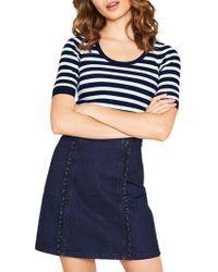 Oasis - Collegiate Stripe Knit - Lyst