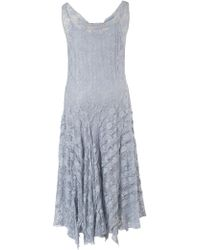 John Lewis - Chesca Stretch Lace Cinderella Bead Trim Dress - Lyst