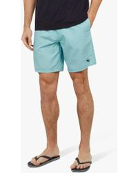 5f5be193844f4 Ted Baker Gusty Swim Shorts in Blue for Men - Lyst