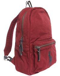 Ralph Lauren - Polo Canvas Backpack - Lyst