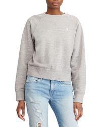 Ralph Lauren - Polo Raglan Sleeve Sweatshirt - Lyst