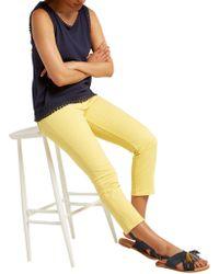 White Stuff - Sally Straight Crop Jeans - Lyst