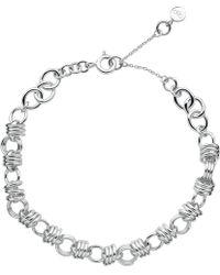 Links of London   Sweetie Xs Sterling Silver Chain Charm Bracelet   Lyst