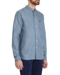 Lyle & Scott - Long Sleeve Oxford Shirt - Lyst