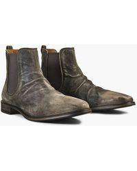 John Varvatos Fleetwood Suede Chelsea Boot