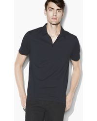 John Varvatos - Striped Hampton Polo - Lyst