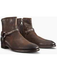 John Varvatos - Eldridge Harness Boot - Lyst