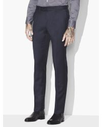 John Varvatos - Austin Textured Pants - Lyst
