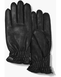 John Varvatos - Leather Gloves - Lyst
