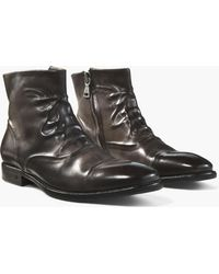 John Varvatos - Fleetwood Ghosted Lace Boot - Lyst