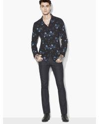 John Varvatos - Allover Floral Shirt - Lyst