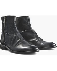 John Varvatos - Morrison Wide-zip Sharpei Boot - Lyst