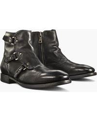 John Varvatos - Fleetwood Pin Strap Boot - Lyst