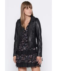 Joie - Ailey Leather Jacket - Lyst