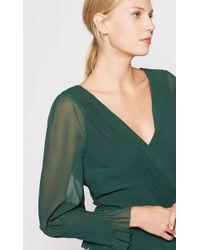Joie - Kaliska Wrap Top In Green - Lyst