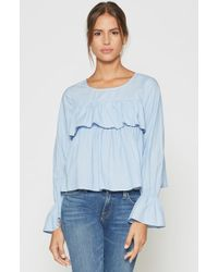Joie - Adotte Chambray Top - Lyst