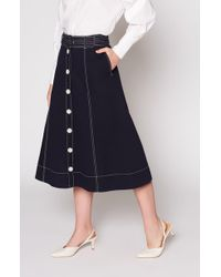 Joie - Mayaly Skirt - Lyst