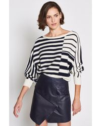 Joie - Maridel (porcelain/midnight) Jumper - Lyst