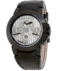 Harry Winston - Ocean Triple Retrograde Chronograph Automatic Mens Watch - Lyst