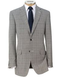 Jos. A. Bank - Signature Imperial Blend Collection Tailored Fit Plaid Sportcoat - Lyst