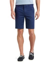Jos. A. Bank - Stays Cool Cotton Shorts Tailored Fit Plain Front - Lyst
