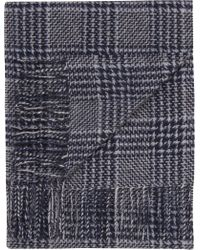 Jos. A. Bank | Plaid Wool & Cashmere Scarf Clearance | Lyst