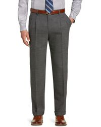 Jos. A. Bank - 1905 Collection Tailored Fit Pleated Front Side Tab Dress Pants - Lyst