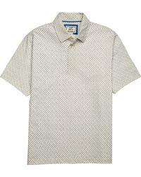 Jos. A. Bank - 1905 Collection Traditional Fit Anchor Pattern Short-sleeve Polo - Big & Tall Clearance - Lyst