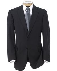Jos. A. Bank - Signature Gold 2-button Tailored Fit Wool Suit Big And Tall - Lyst