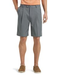 Jos. A. Bank | David Leadbetter Traditional Fit Pleated Front Performance Golf Shorts | Lyst