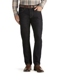 Jos. A. Bank - Joseph Abboud Slim Fit Dark Wash Jeans - Lyst