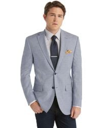 Jos. A. Bank - Executive Regal Fit Mini Check Tropical Blend Sportcoat Clearance - Lyst