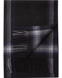 Jos. A. Bank - Plaid Stripe Cashmere Scarf Clearance - Lyst