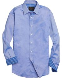 Jos. A. Bank - Reserve Collection Traditional Fit Spread Collar Solid Color Sportshirt - Big & Tall Clearance - Lyst