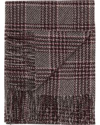 Jos. A. Bank - Plaid Wool & Cashmere Scarf Clearance - Lyst