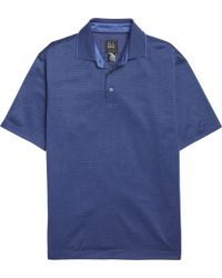 Jos. A. Bank - Traveller Collection Traditional Fit Jacquard Dot Short-sleeve Pique Polo Shirt - Lyst