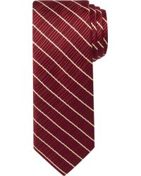 Jos. A. Bank - Signature Gold Ribbed Stripe Tie - Lyst