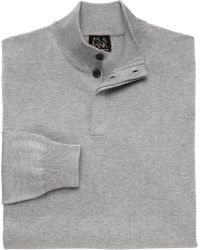 Jos. A. Bank - Signature Collection Cotton Mock Neck Sweater - Lyst