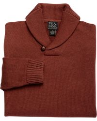 Jos. A. Bank - Executive Collection Cotton Shawl Collar Sweater Clearance - Lyst