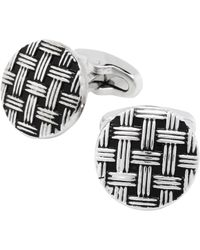 Jos. A. Bank - Basketweave Pattern Cufflinks Clearance - Lyst