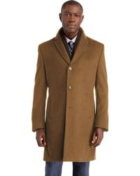 Jos. A. Bank - Executive Collection Tailored Fit 3/4 Length Topcoat - Big & Tall - Lyst