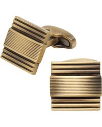 Jos. A. Bank - Matte Textured Stripe Cufflinks Clearance - Lyst