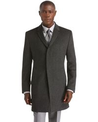Jos. A. Bank - Executive Collection Traditional Fit Herringbone 3/4 Length Topcoat - Lyst