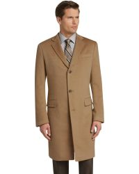 Jos. A. Bank - Eserve Collection Tailored Fit Cashmere Topcoat - Lyst