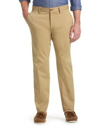 Jos. A. Bank - 1905 Collection Tailored Fit Flat Front Chino Trousers - Lyst