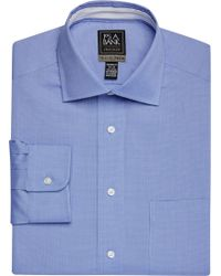Jos. A. Bank - Travel Tech Tailored Fit Spread Collar Micro Weave Dress Shirt - Lyst