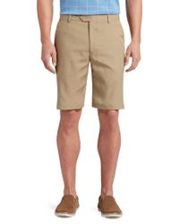 Jos. A. Bank - David Leadbetter Tailored Fit Flat Front Shorts By - Lyst
