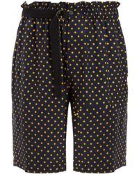 JOSEPH - Laura Spot Silk Toile Luis Shorts - Lyst