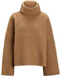 JOSEPH - Cropped Poncho Knit - Lyst