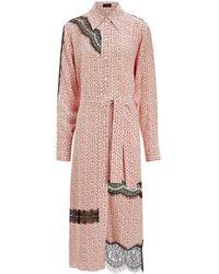 JOSEPH - Claude Floral Lace Dress - Lyst